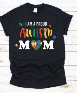 Am A Proud Autism Mom Heavy Cotton T-Shirt