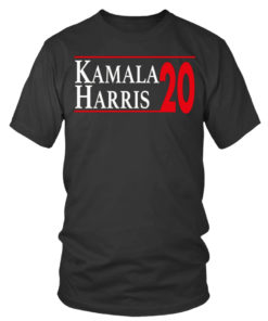 Kamala Harris 20 Heavy Cotton T-Shirt