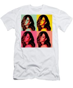 Rihanna Pop Art Heavy Cotton T-Shirt