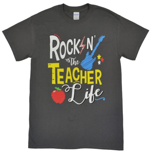 Rockin' The Teacher Life Heavy Cotton T-Shirt